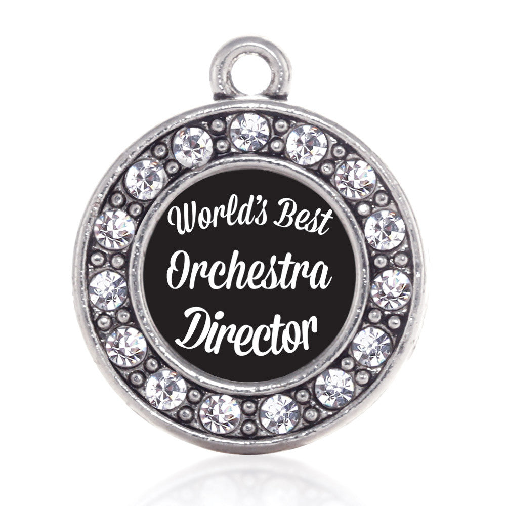 World's Best Orchestra Director Circle Charm
