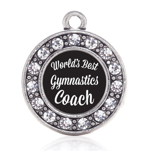 World's Best Gymnastics Coach Circle Charm