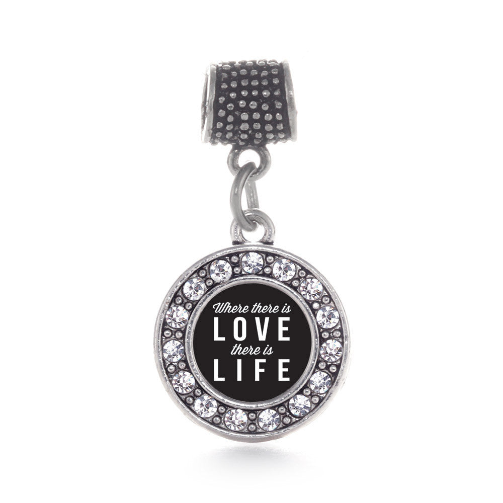 Where There Is Love Circle Charm