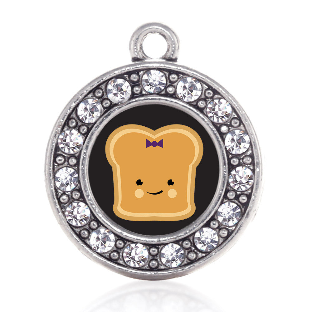 Peanut Butter  Circle Charm