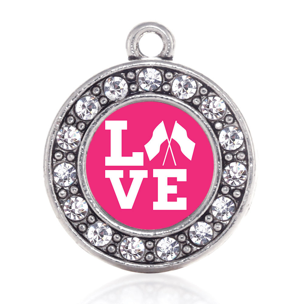Color Guard Love Circle Charm