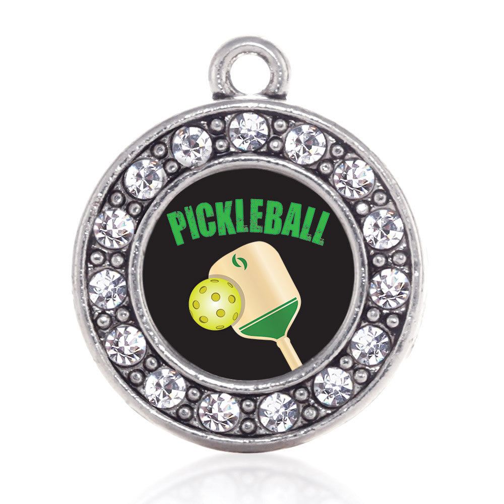Pickleball Circle Charm