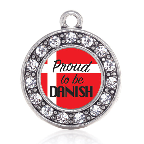 Proud to be Danish Circle Charm