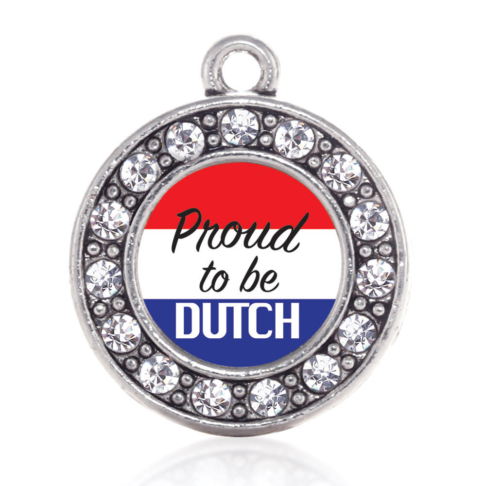 Proud to be Dutch  Circle Charm