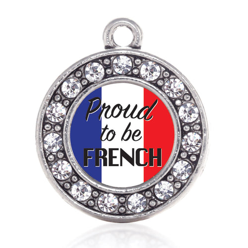 Proud to be French Circle Charm