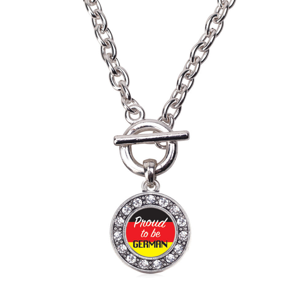 Proud to be German Circle Charm