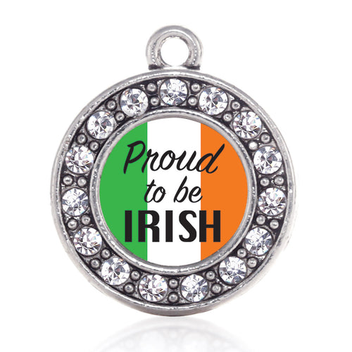 Proud to be Irish Circle Charm