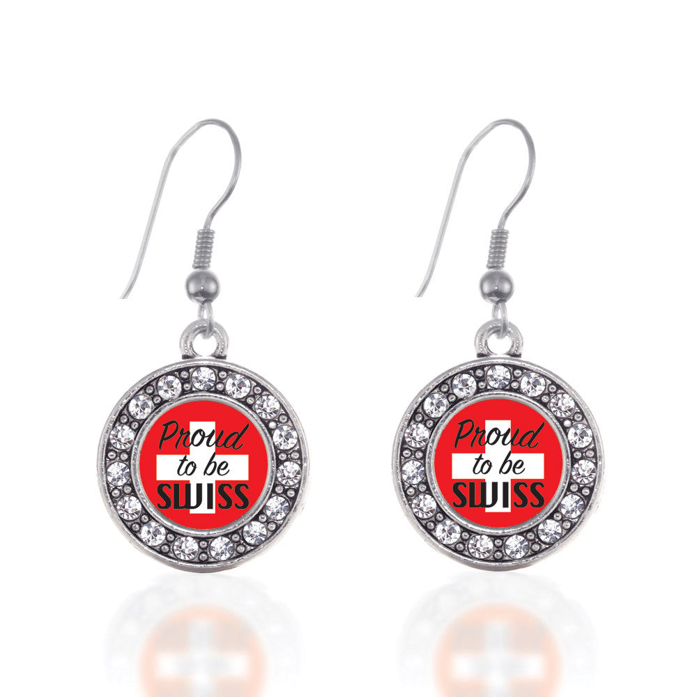 Proud to be Swiss Circle Charm
