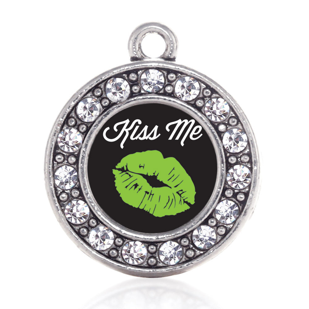 Kiss Me I'm Irish Circle Charm
