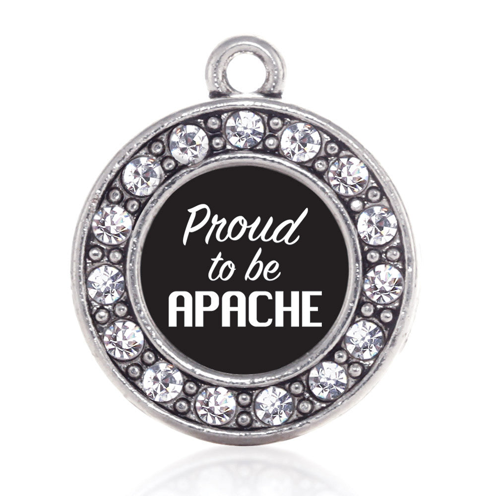 Proud To Be Apache  Circle Charm