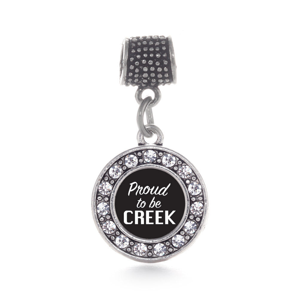 Proud To Be Creek Circle Charm