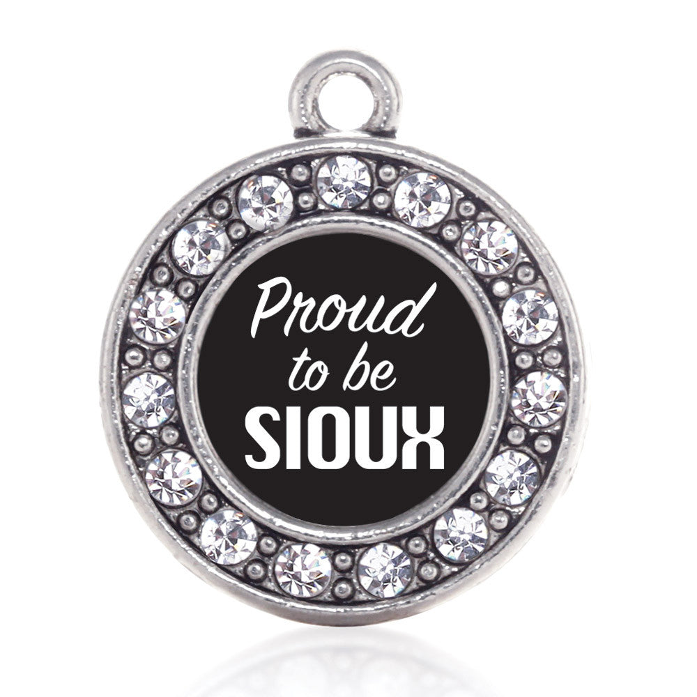 Proud To Be Sioux Circle Charm
