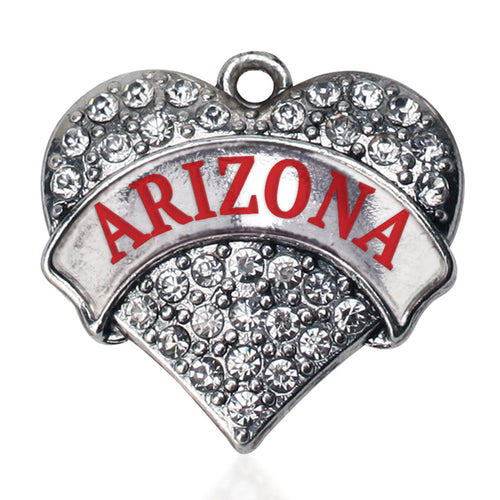 Arizona Pave Heart Charm