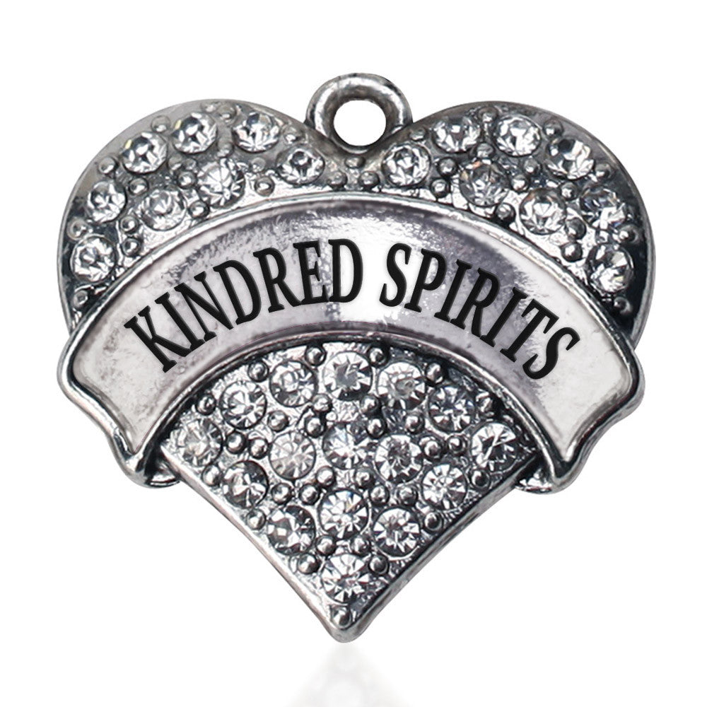 Kindred Spirits  Pave Heart Charm