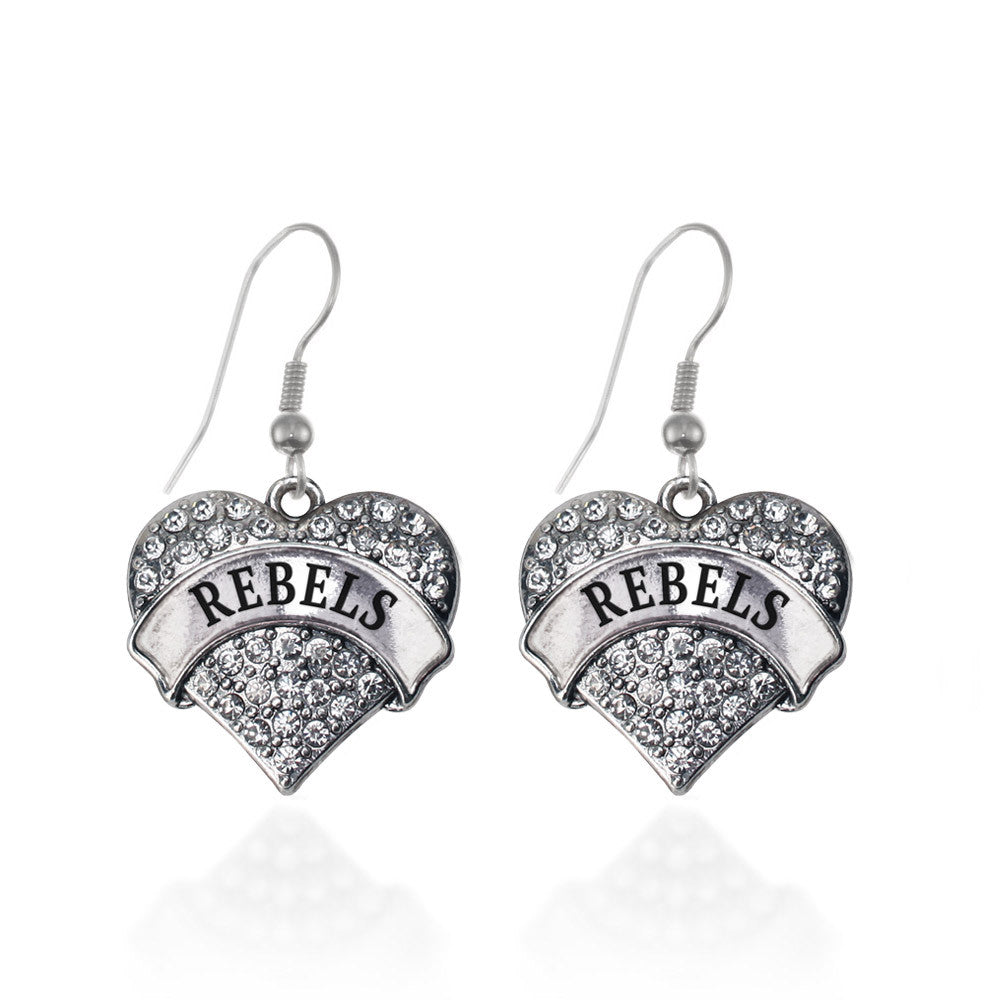 Rebels  Pave Heart Charm