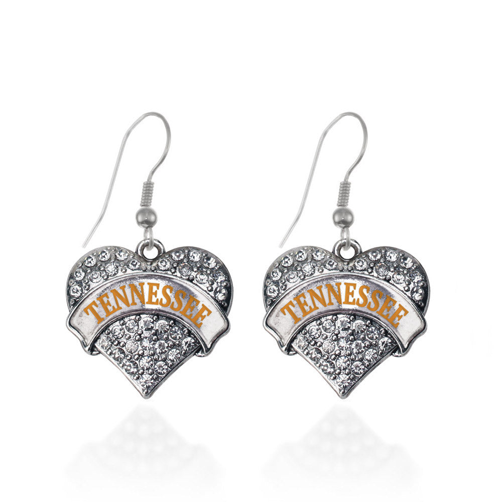 Tennessee Pave Heart Charm