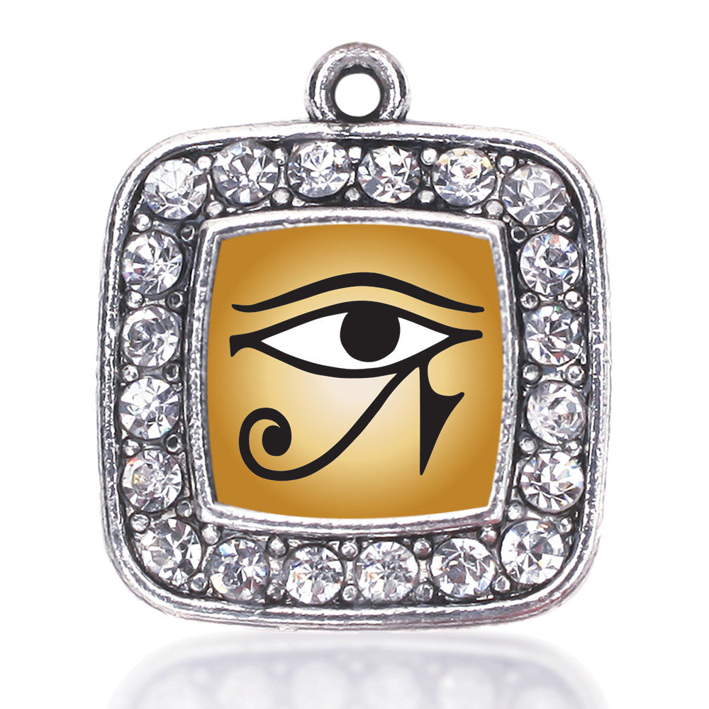 Eye Of Ra Square Charm