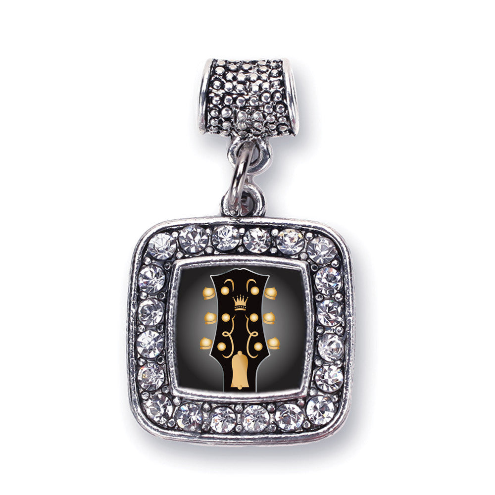 Legendary Guitar Square Charm