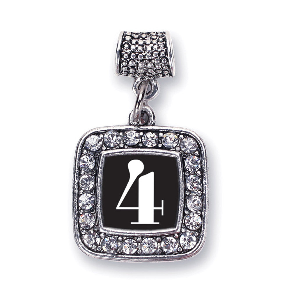 Number 4 Square Charm