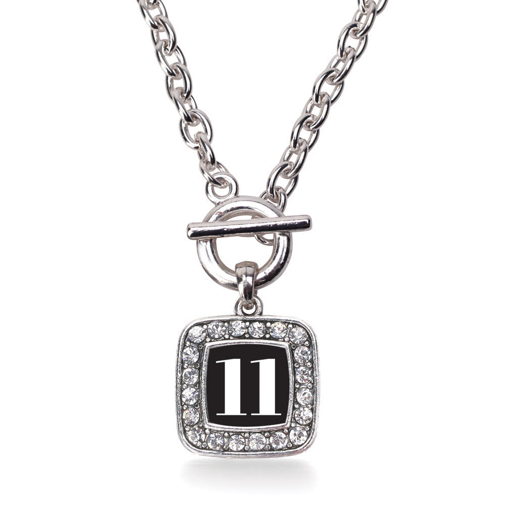 Number 11 Square Charm