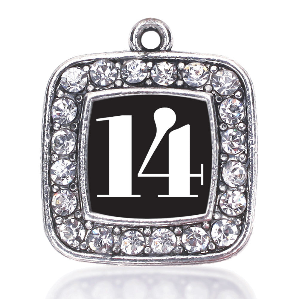 Number 14 Square Charm
