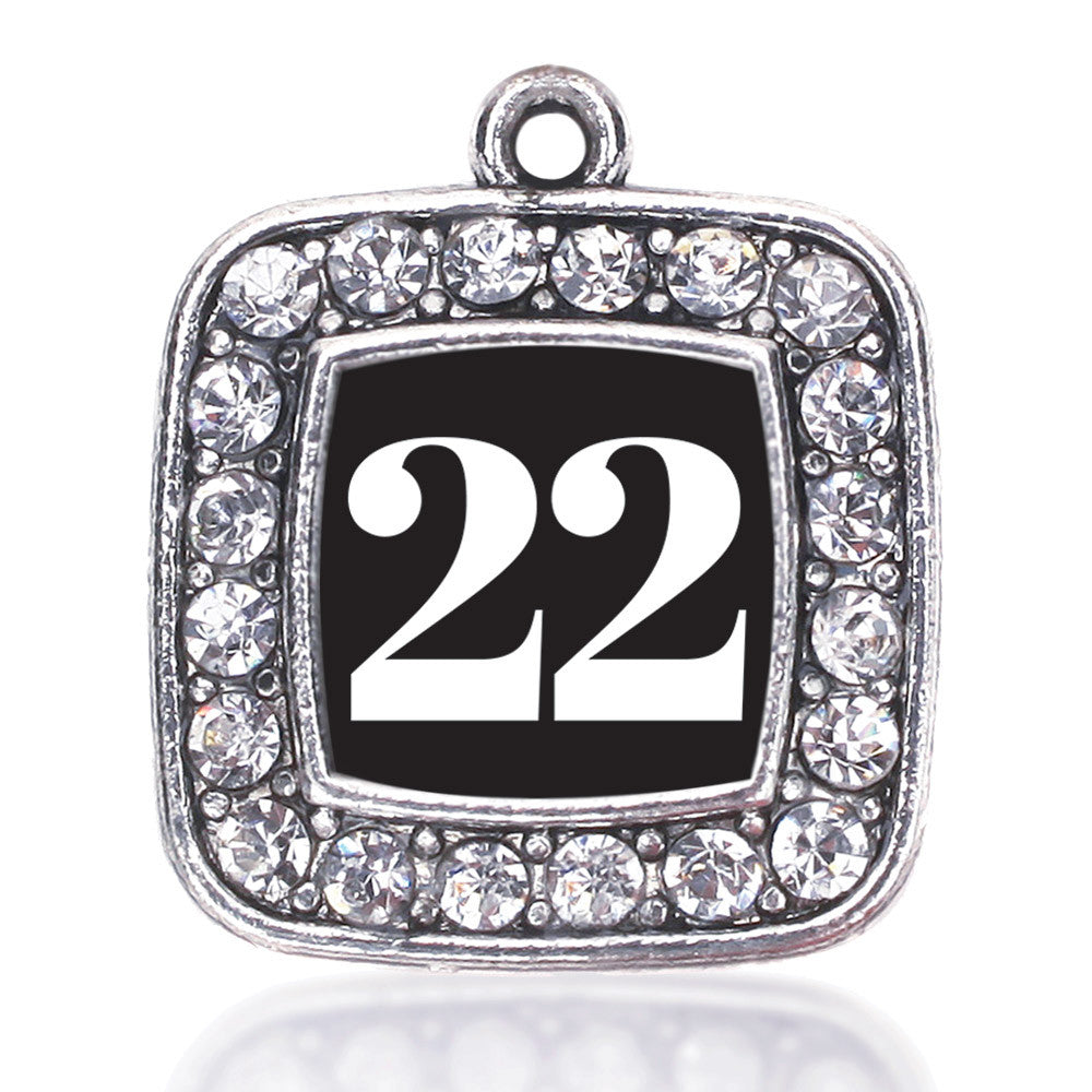 Number 22 Square Charm