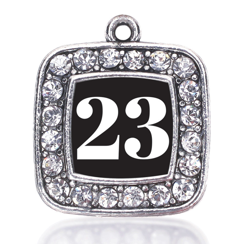 Number 23 Square Charm