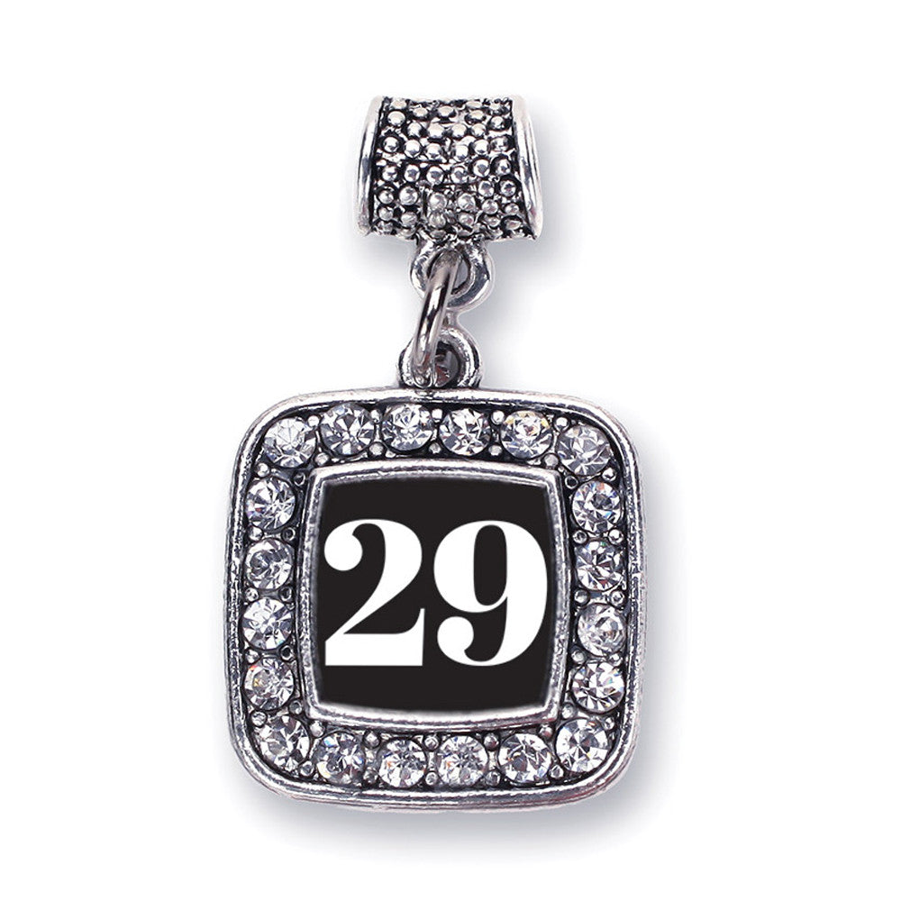 Number 29 Square Charm