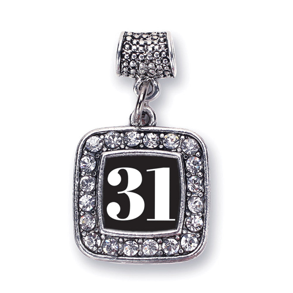 Number 31 Square Charm
