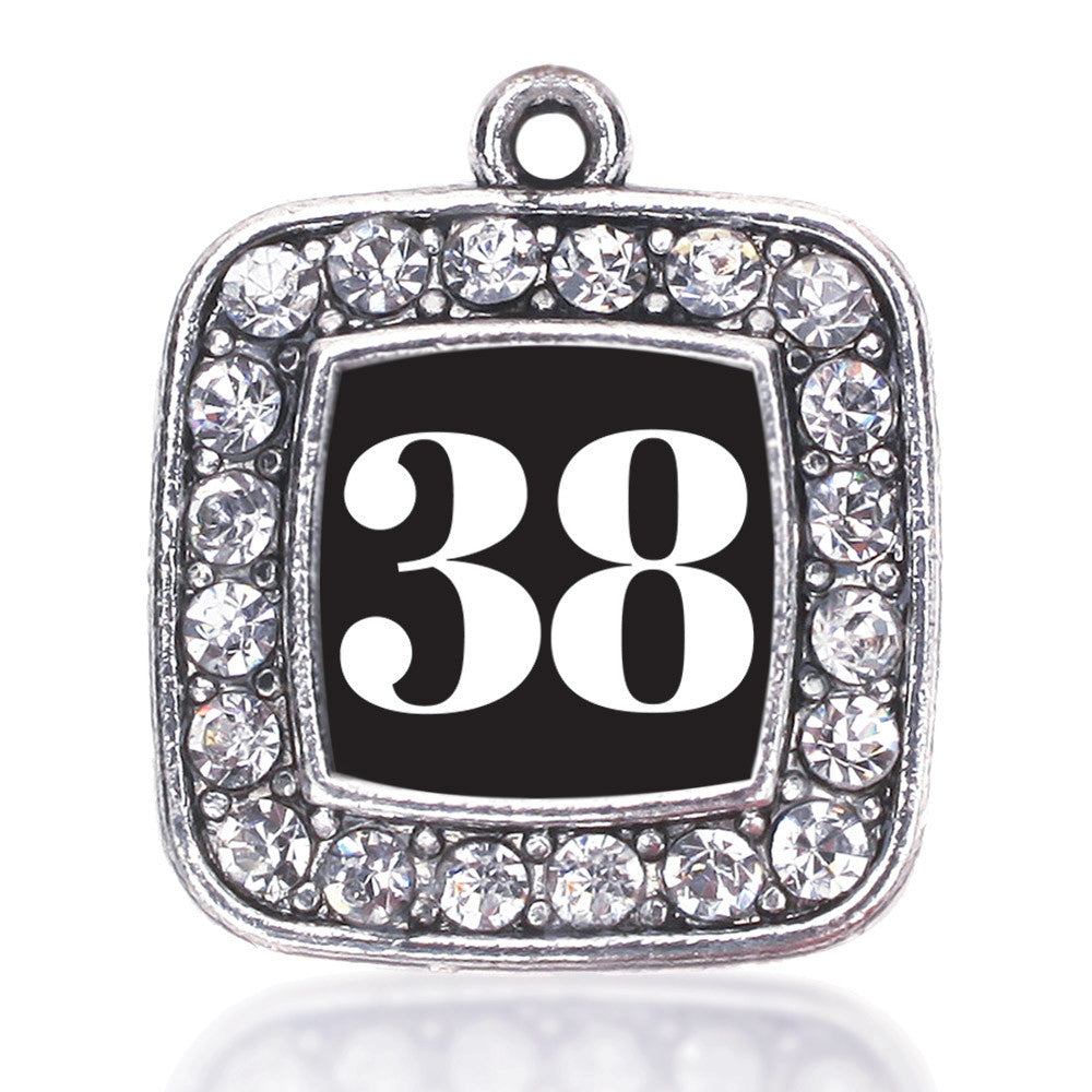 Number 38 Square Charm