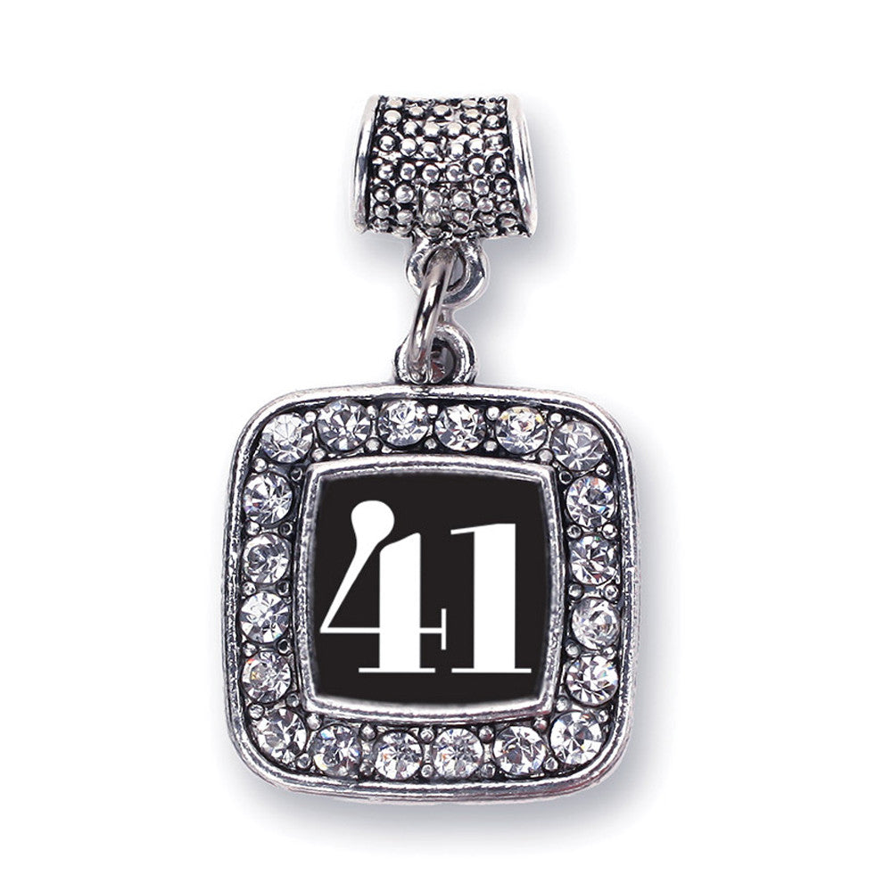 Number 41 Square Charm