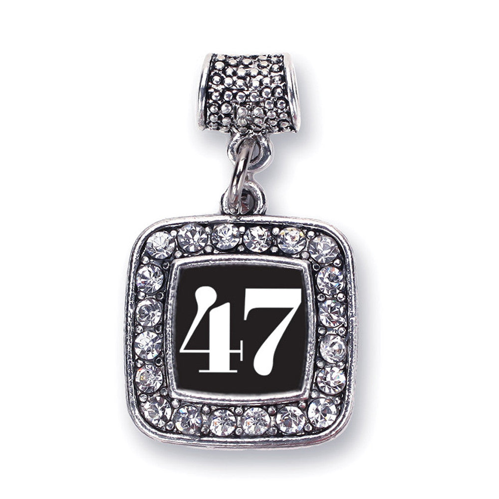 Number 47 Square Charm