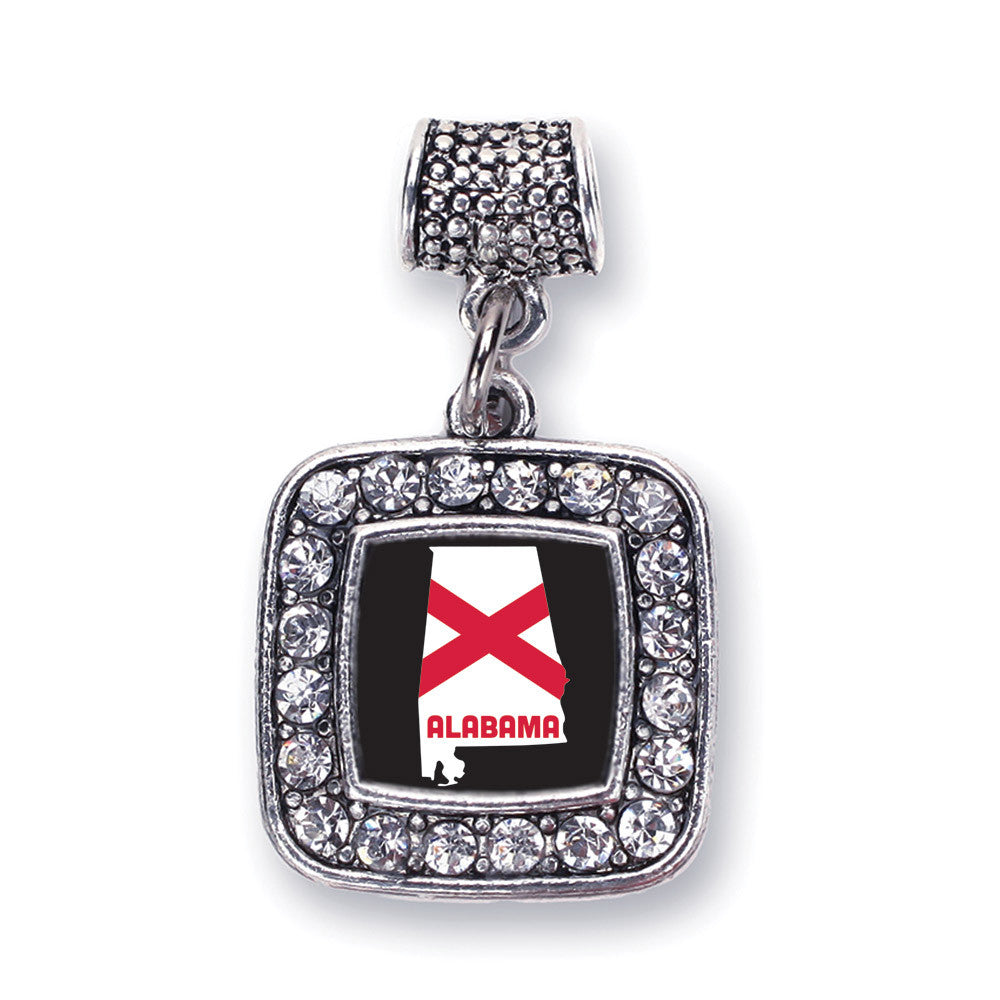 Alabama State Flag Square Charm