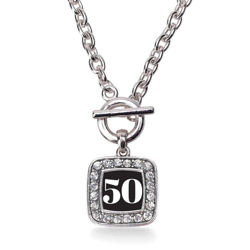 Number 50 Square Charm