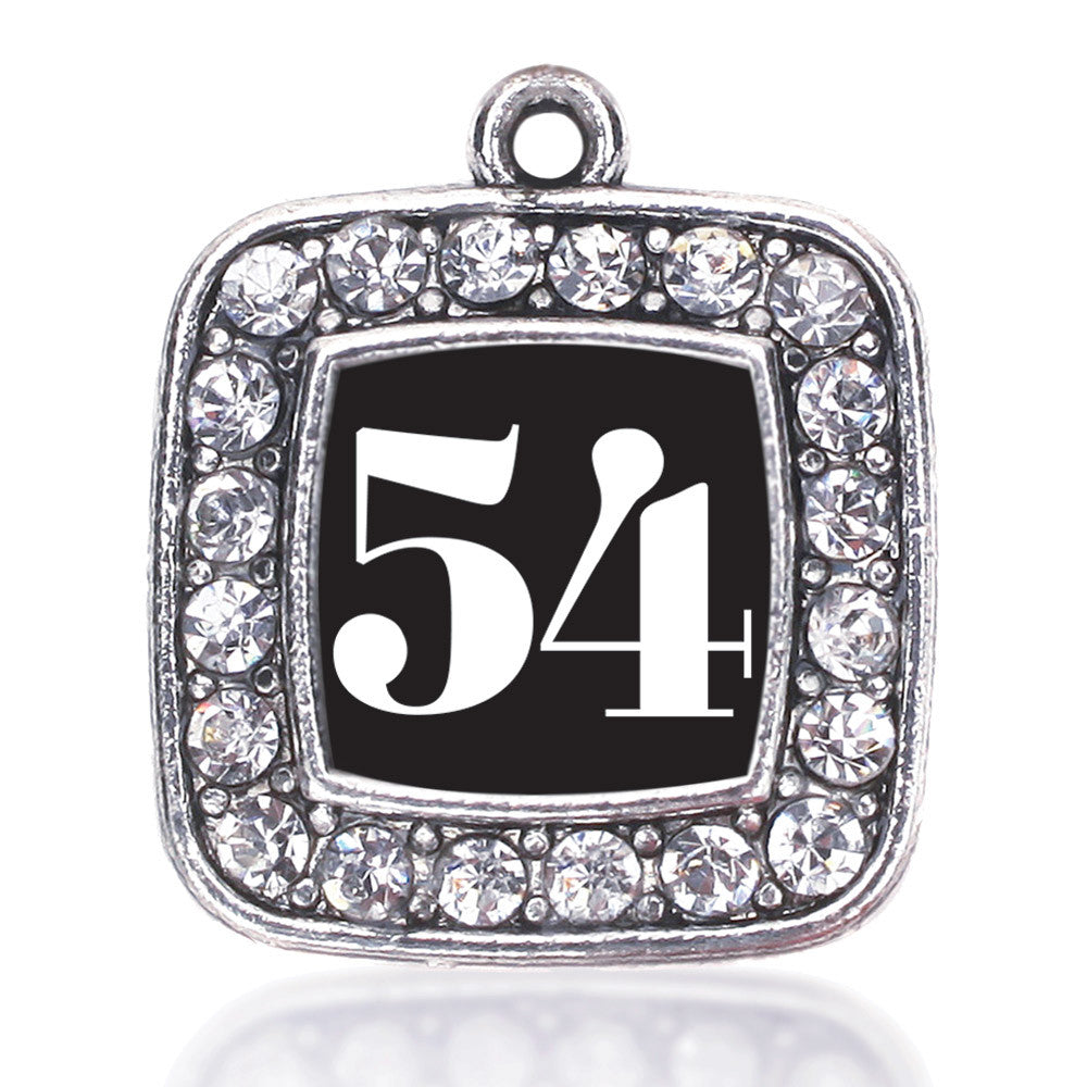 Number 54 Square Charm