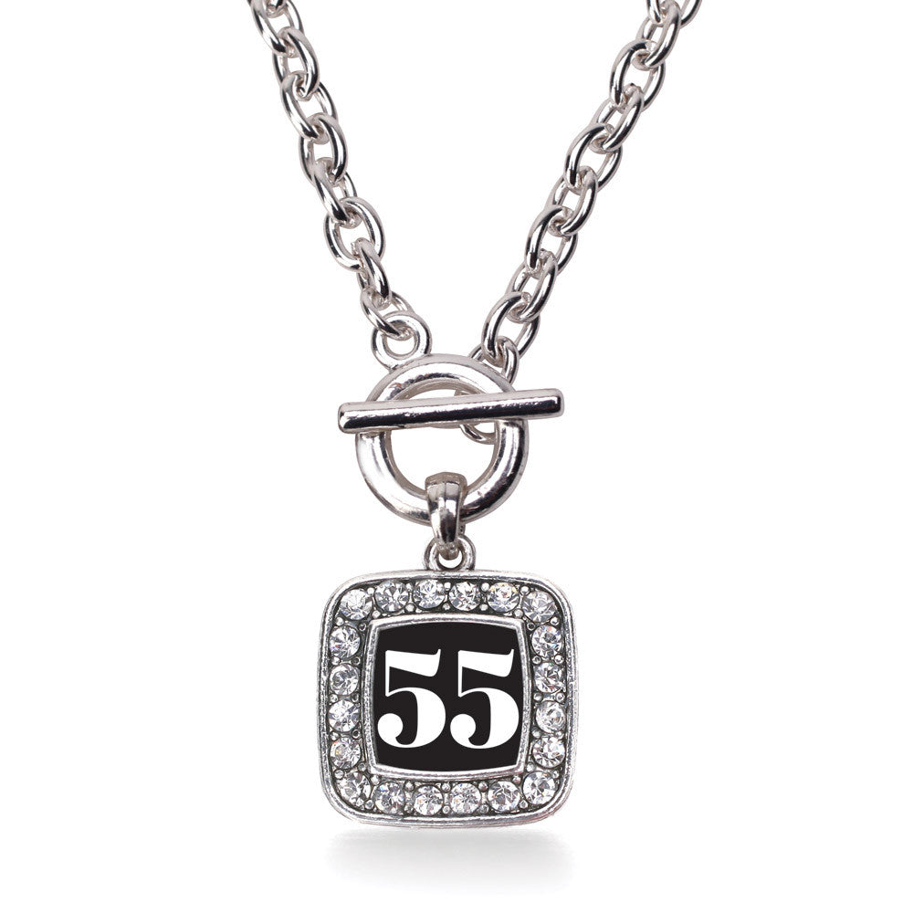 Number 55 Square Charm