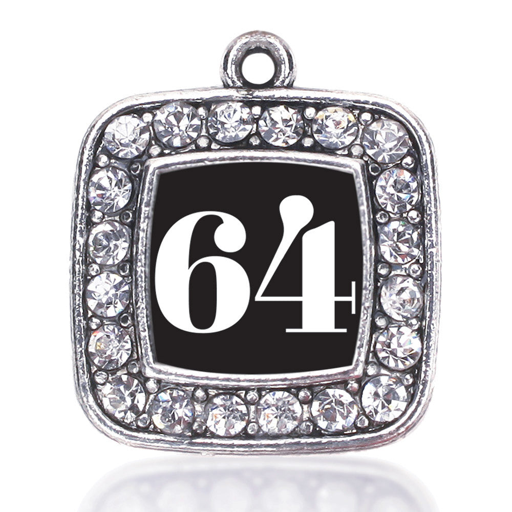 Number 64 Square Charm