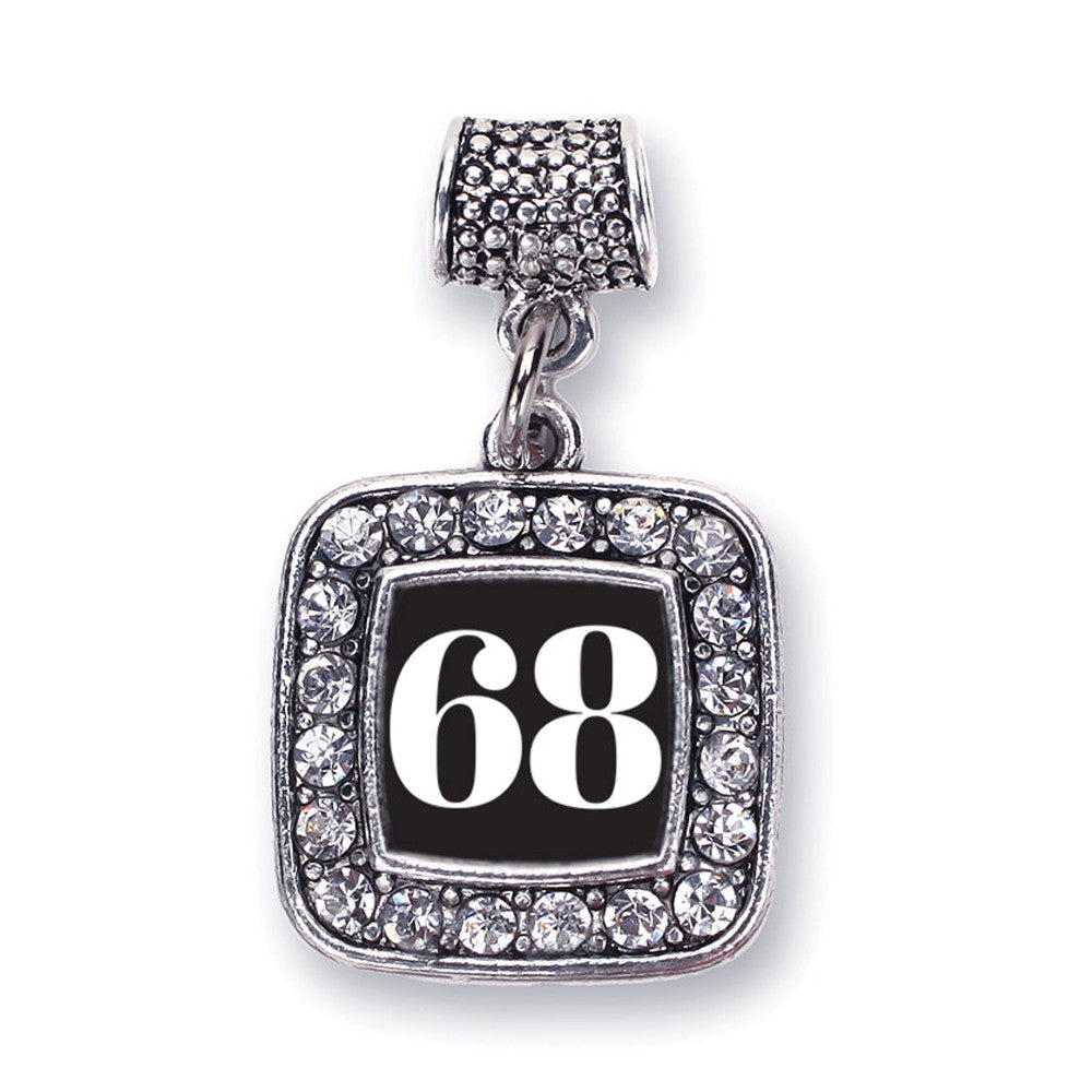 Number 68 Square Charm