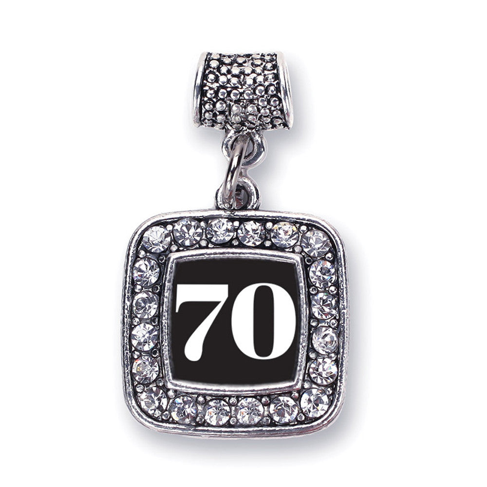 Number 70 Square Charm