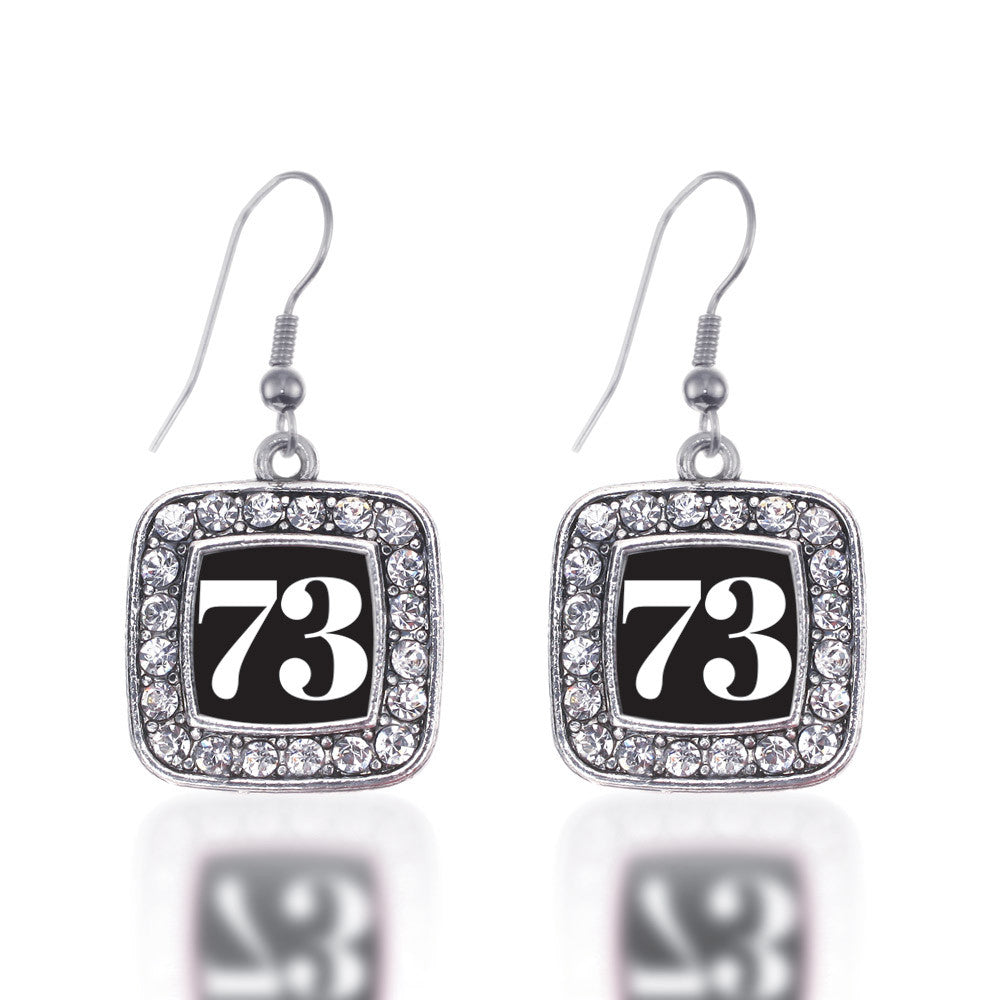 Number 73 Square Charm