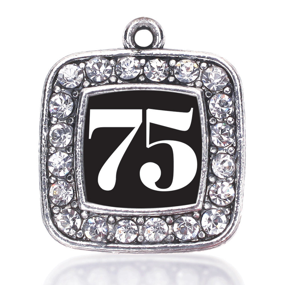 Number 75 Square Charm