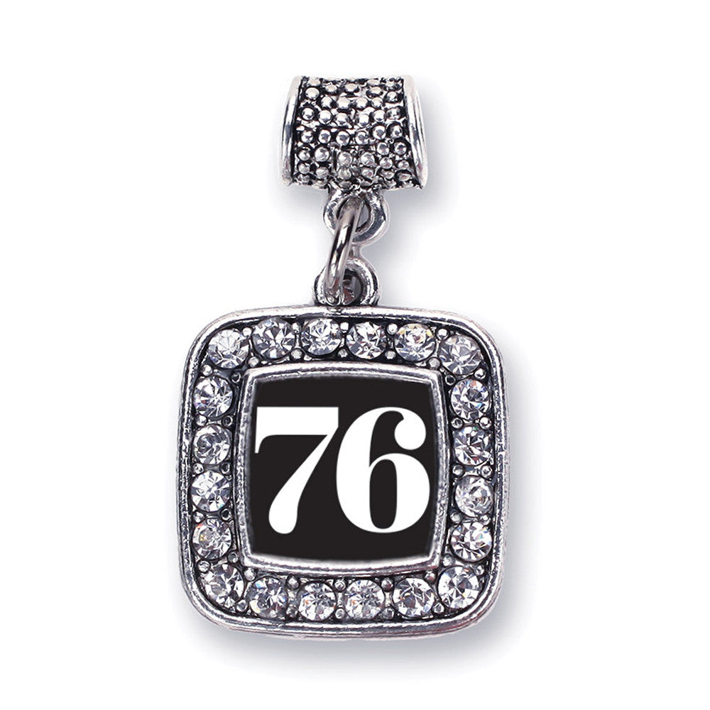Number 76 Square Charm