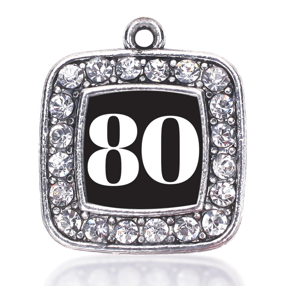Number 80 Square Charm