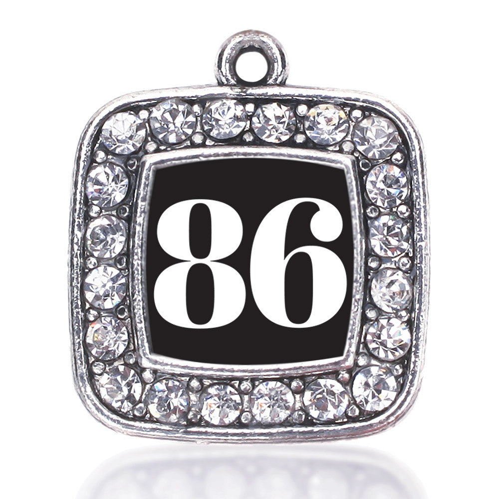 Number 86 Square Charm