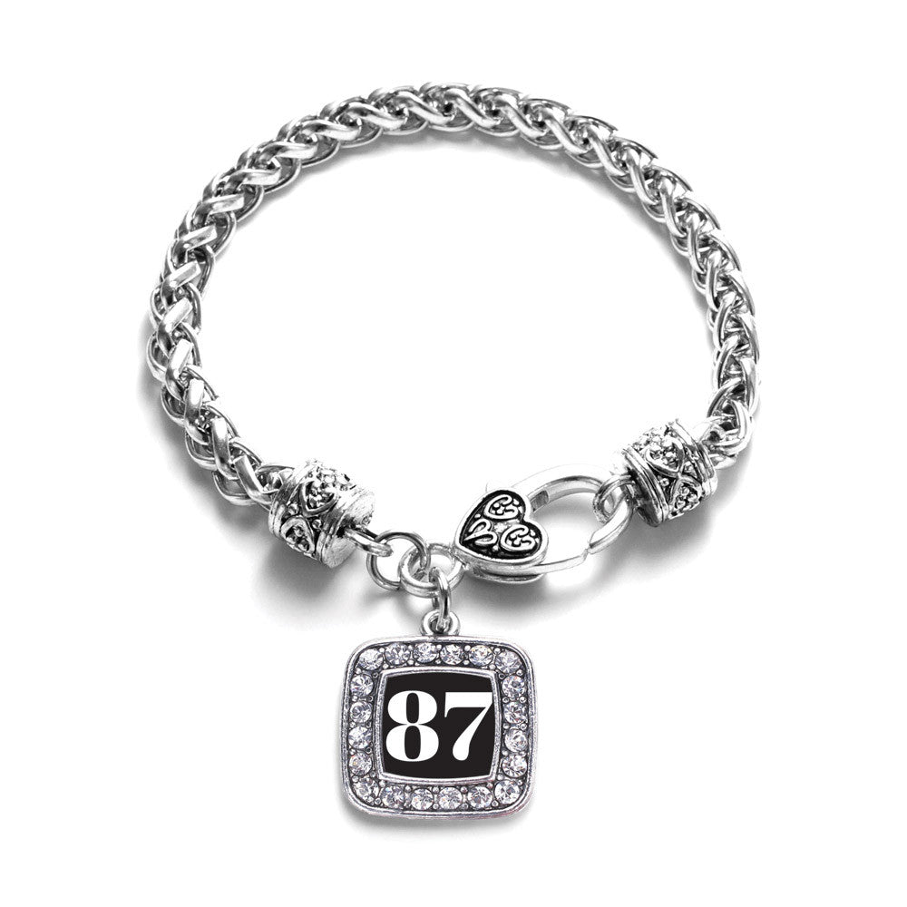 Number 87 Square Charm