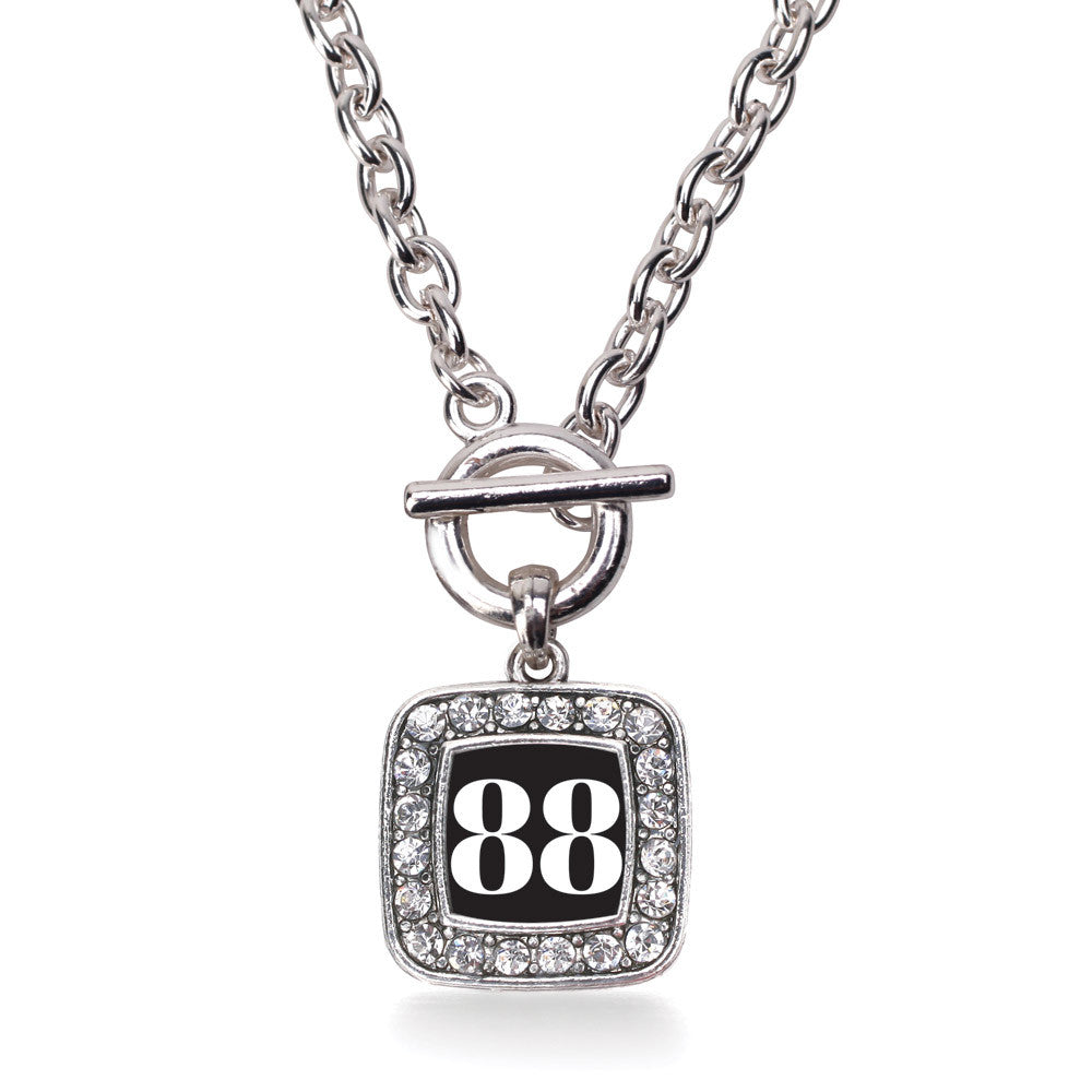 Number 88 Square Charm