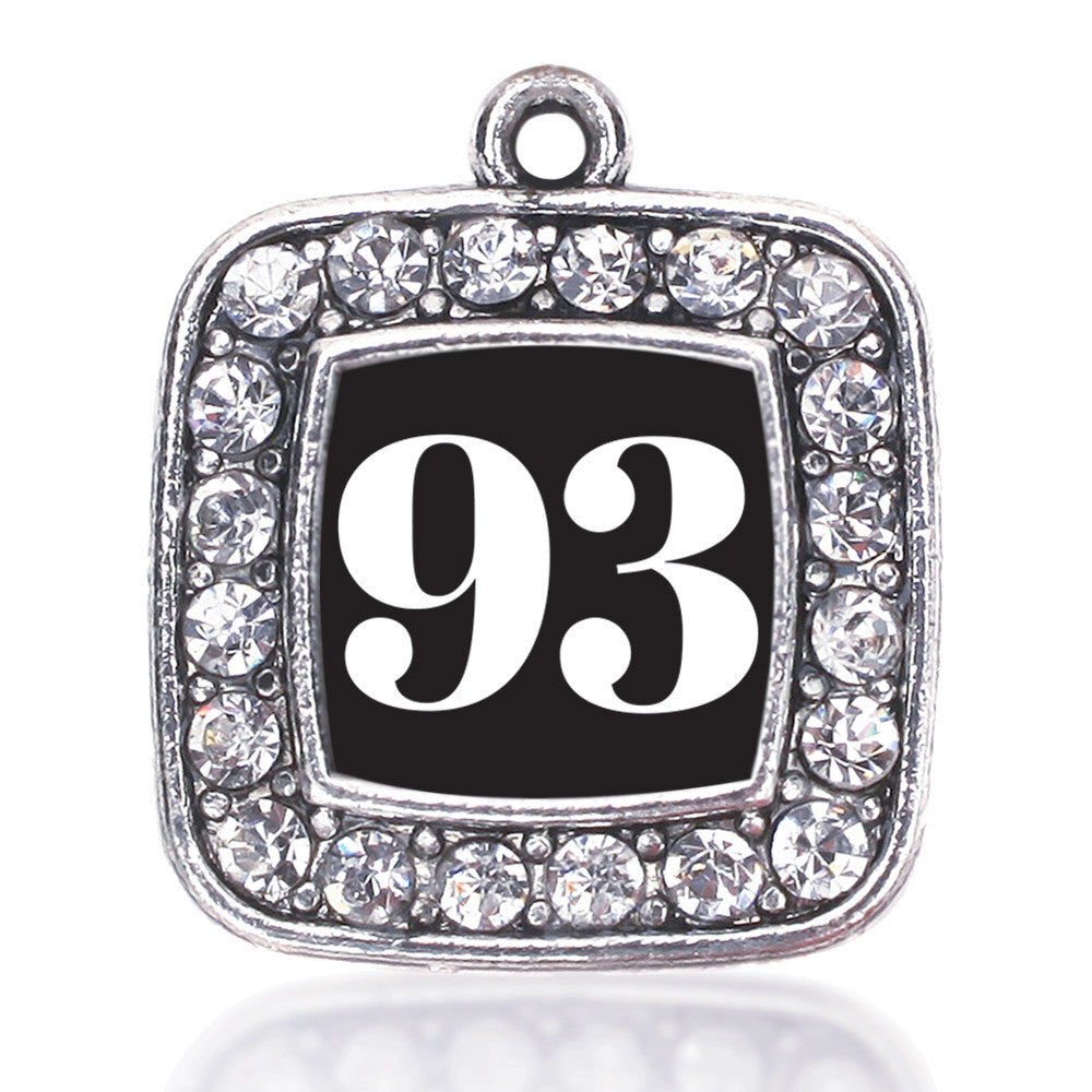Number 93 Square Charm