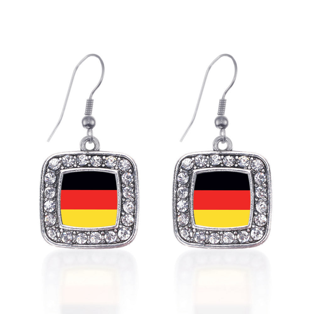 Germany Flag Square Charm