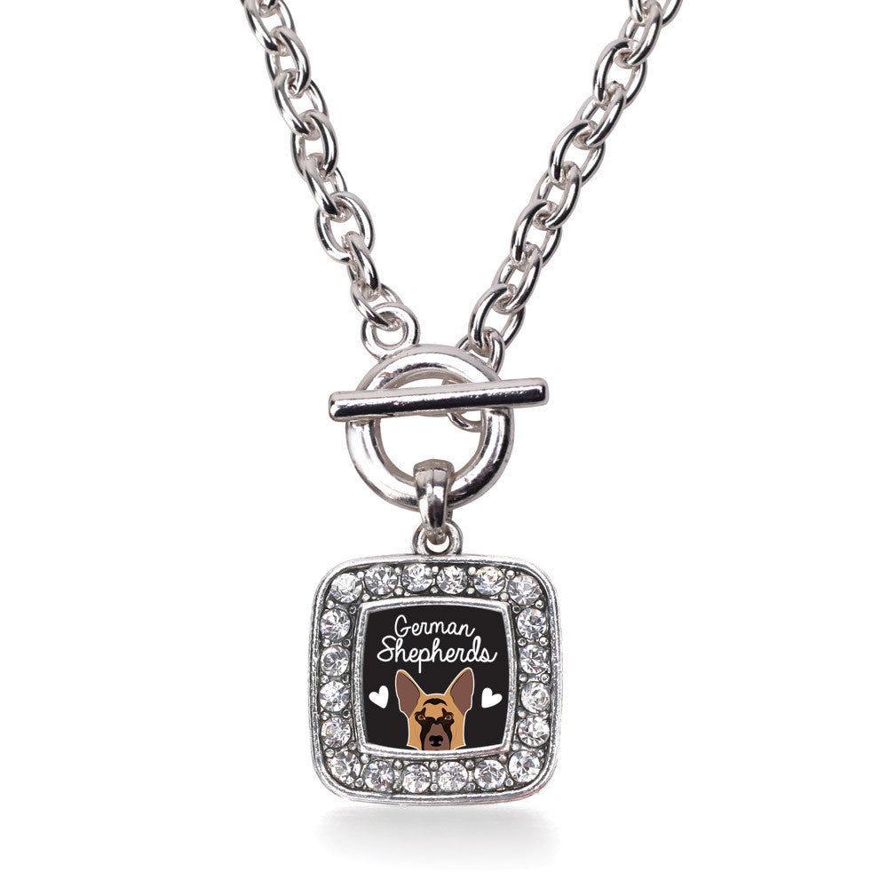 German Shepherd Lover Square Charm