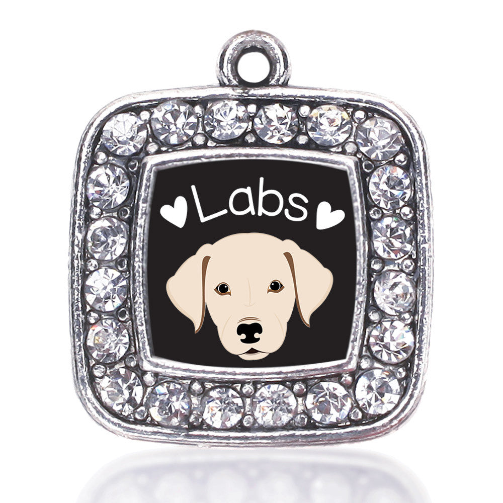 Lab Lover Square Charm